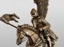 Polski Husarz na koniu