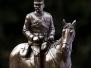 Józef Piłsudski na koniu